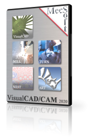 VisualCAD/CAM 2020 MILL – Xpress